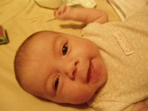 Baby Smiles Contest Entrant
