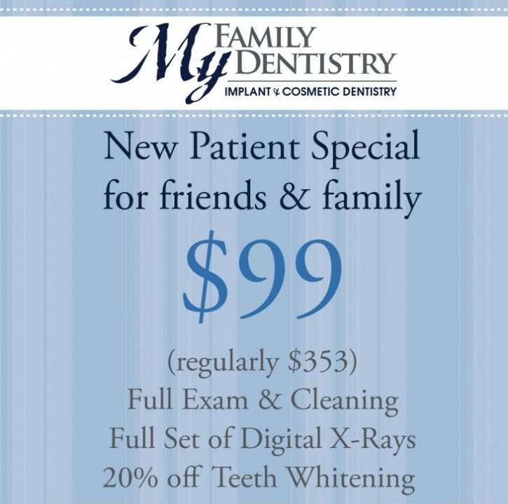 New Patient Special – Send Us Your Friends and Family!