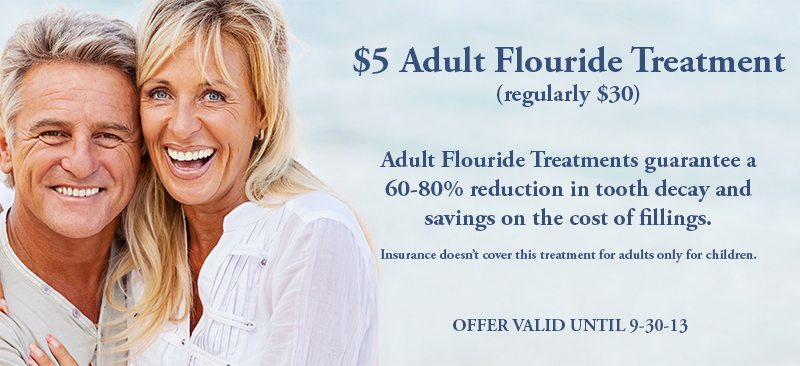 Summer Special: Adult Fluoride Treatment Only $5