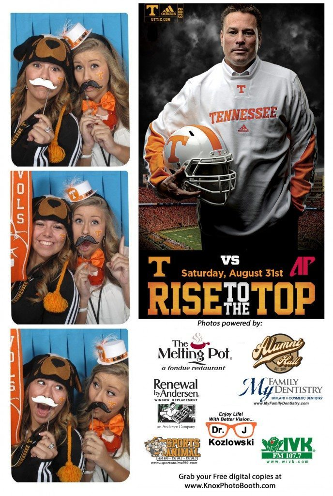 My Family Dentistry Sponsors UT Vol Village Photo Booth!
