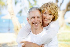 Mature Couple with Healthy Smiles