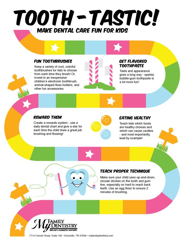 Tooth-tastic! Make Dental Care Fun for Kids [Infographic]