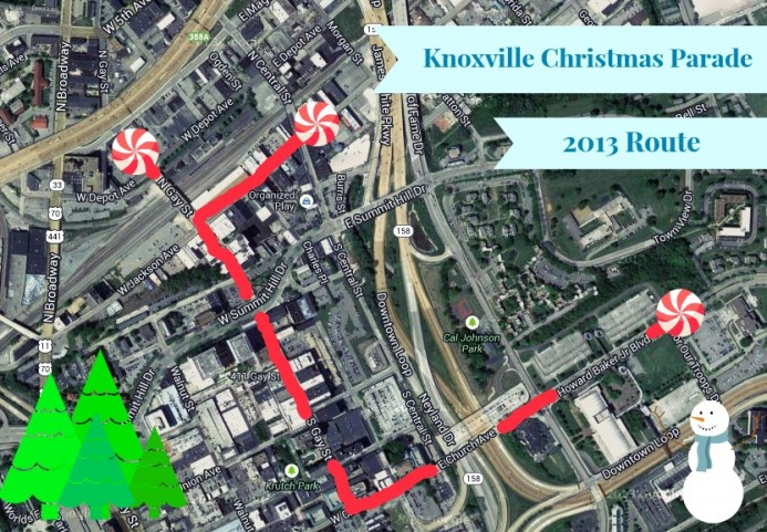 Your Guide to the Knoxville Christmas Parade 2013