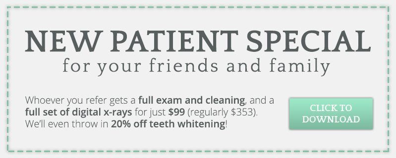 New Patient Special Coupon CTA