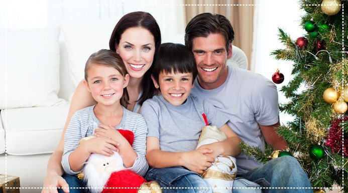 Teeth Whitening for Holiday Photos